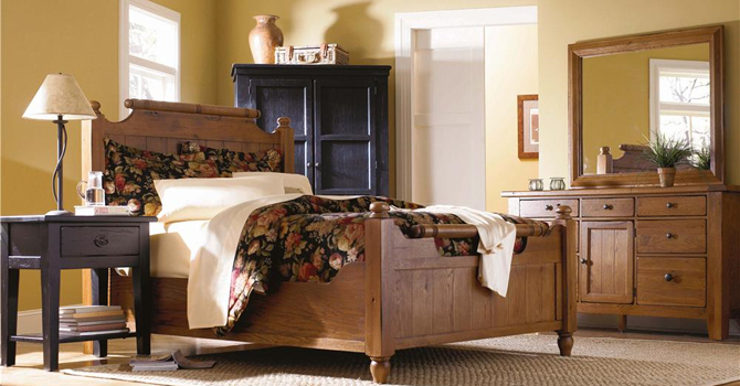 spanish bay traditional style bedroom set - Bedroom Furniture Shops
